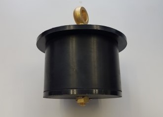 Brass scupperplug 110mm - 135mm with HD plates