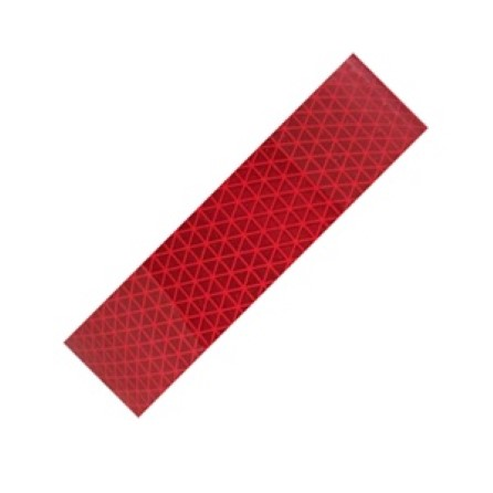 Reflective Diamond tape Red 50 mm x 10 meter