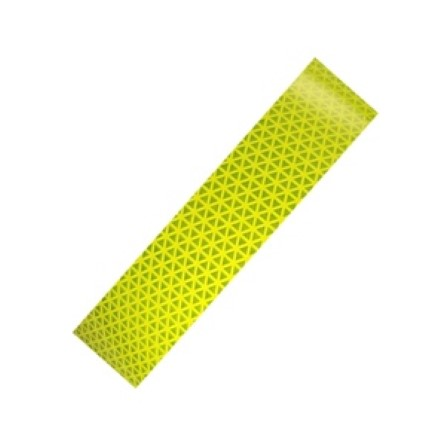 Reflective Diamond tape Yellow 50 mm x 10 meter