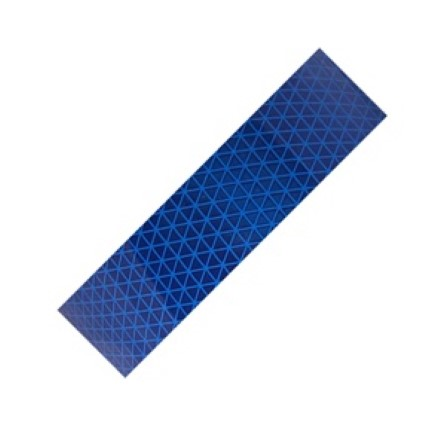 Reflective Diamond tape Blue 50 mm x 10 meter