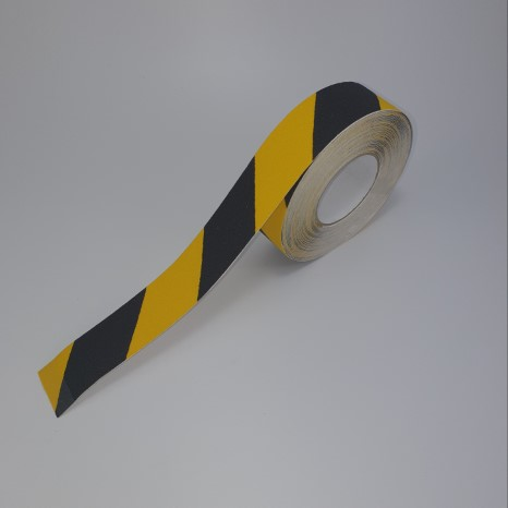 Safety walk black/yellow 50mm x 18.3mtr