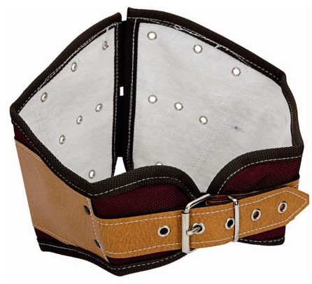 Heavy duty weightlifting belt