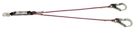 Jumbo hooked 2 x 1.5 meter line / shockabsorber