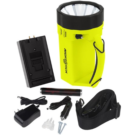Rechargeable safety handlamp ATEX approved