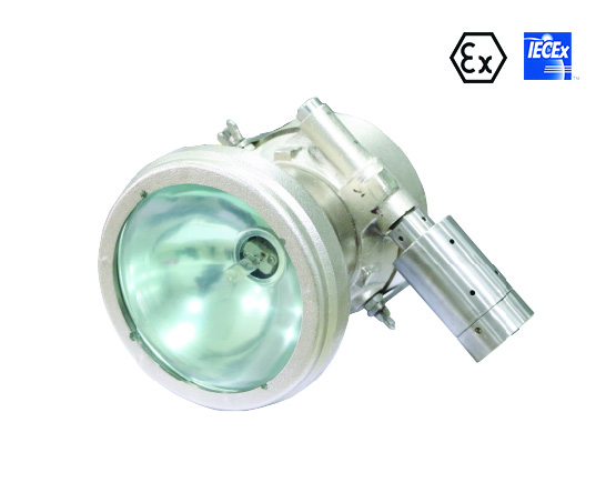 Compressed air electric safety light