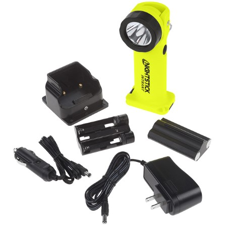 High powered LED/ ATEX rechargeable angle light