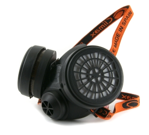 Twin respirator ½-mask+filter
