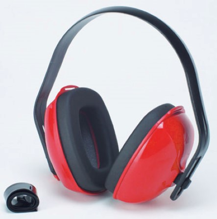 Ear muff comfort adjustable 3p