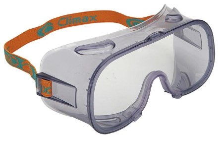 Chemical resistant goggles