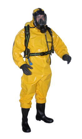 Complete Gas/Chemical protection suit size XL