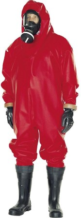Complete Gas/Chemical protection suit Pflüger size XL