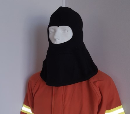 Nomex balaclava for fireman's outfit