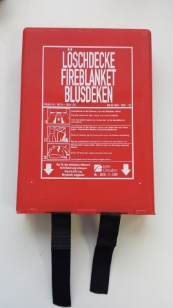 Fire blanket in cover