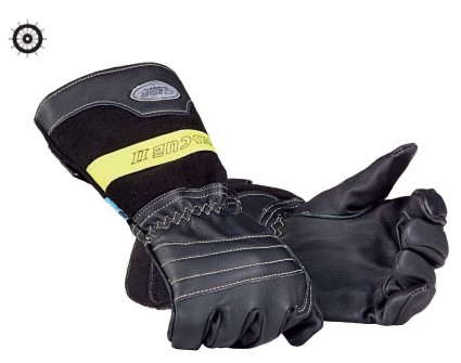 Fireman's gloves MED approved