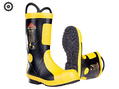 Fireman's boots MED approved
