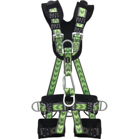 Fullbody support harness with 5 attachment points