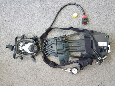 Sabre Breathing apparatus without cylinder