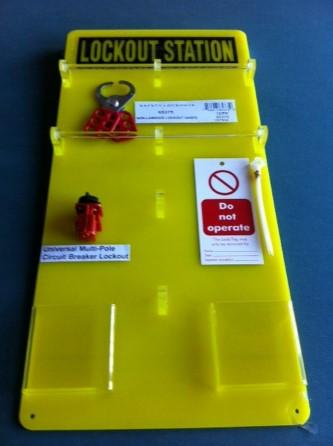 Basic Lockout Station complete - 12 Lock