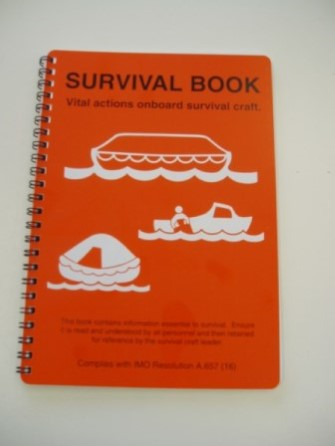 Lifeboat survival booklet