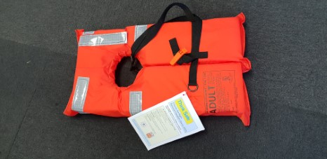Lifejacket with tape USCG approved