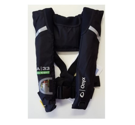 Inflatable lifejacket USCG approved