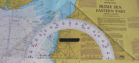 Portland Protractor - Navigational Triangle 310mm