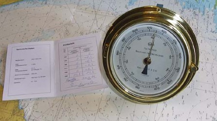 Barometer 150mm incl. calibration certificate