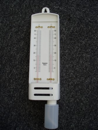 Psychrometer/Hygrometer wet-dry thermomtr