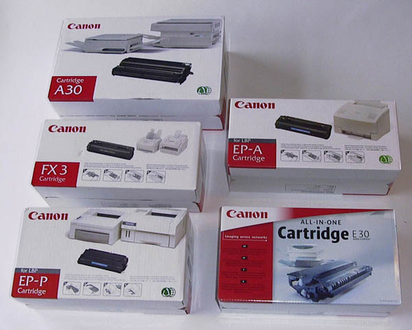 Canon Printer toners