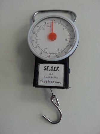 Tubular Spring Balances Hand held type - Capacity 25kg