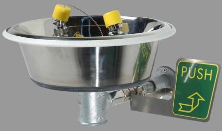 Eyewash bowl Wall mounted type