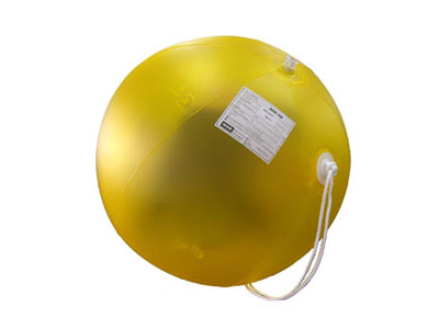 Inflatable Radar reflector MED approved