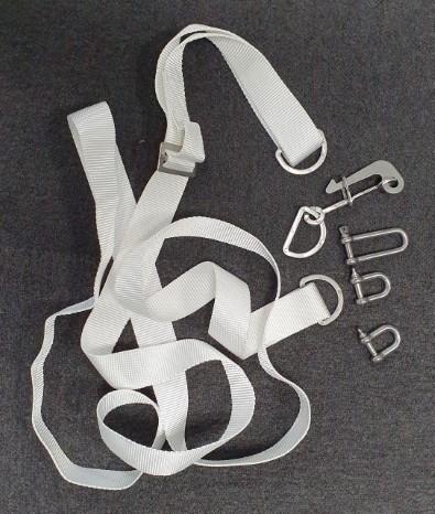 Liferaft strap c/w sliphook