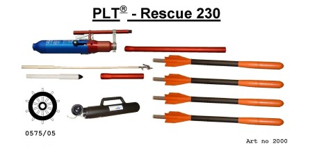 Restech Pneumatic linethrowing device PLT230 complete