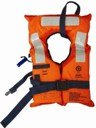 Lifejacket adult - Up to 140 kg - MED approved