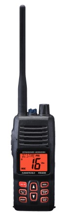 HX400IS Intrinsically safe marine VHF walky talky