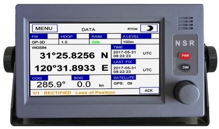 NSR - NGR3000 Marine GPS Navigator MED approved