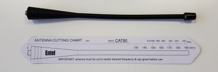 Entel CAT80 IS UHF antenna (all models)