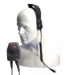 Entel CXR5/950 ATEX Bone conductive skull mic incl PTT
