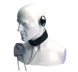 Entel CXR16/950 Bone conductive throat mic ATEX approved