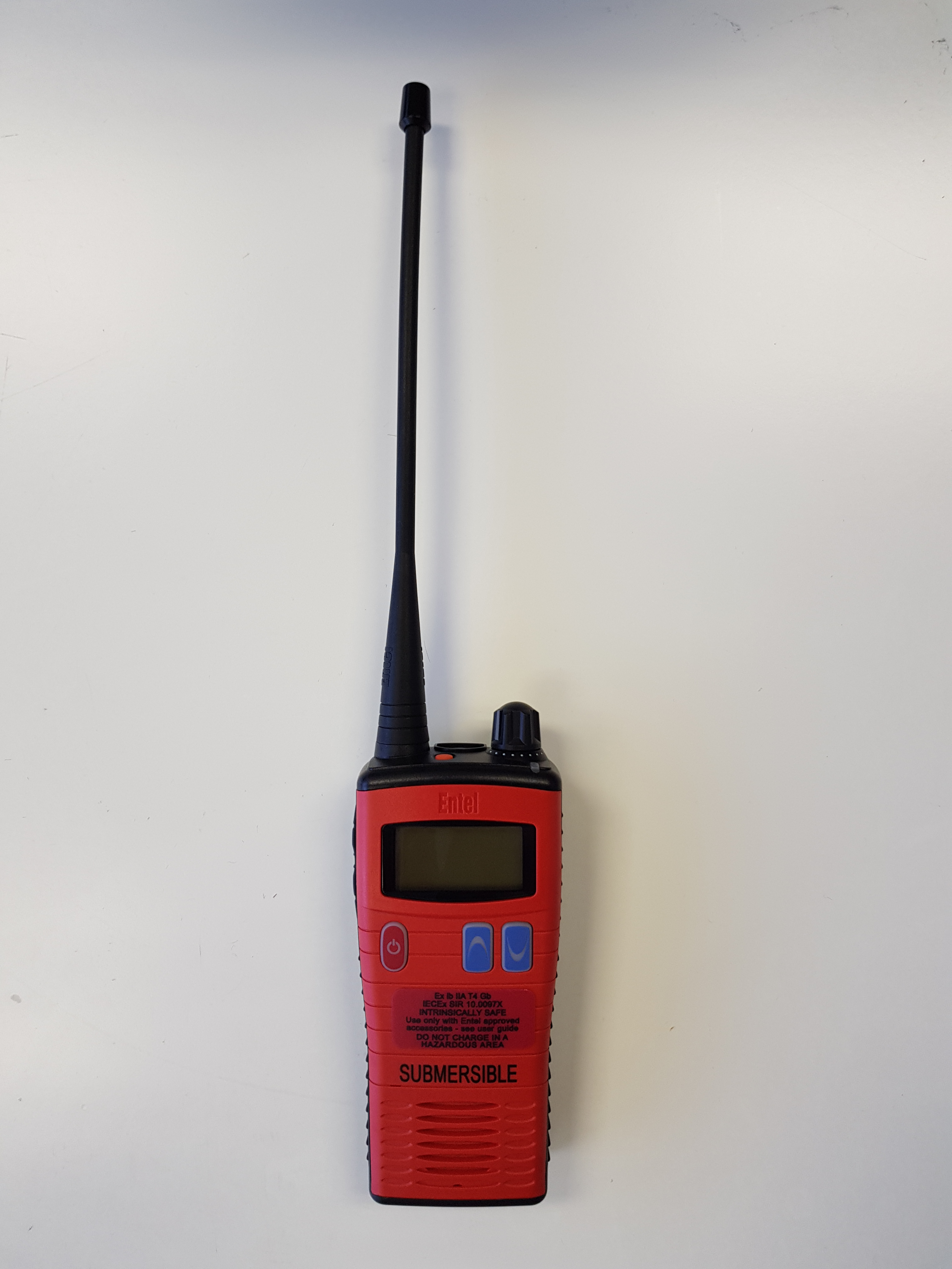 Handheld Radios Products Traconed Lcd Marine Meter Wiring Diagram Entel Ht583 Uhf Iecex Intrinsically Safe Walky Talky