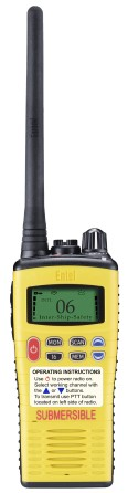 Entel HT649 VHF GMDSS LCD complete MED approved