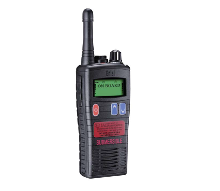 Entel HT883 UHF ATEX IIA approved LCD complete (EU)