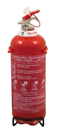 Extinguisher Powder 2 kg MED constant pressure
