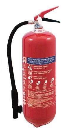 Extinguisher Powder 6 kg MED constant pressure