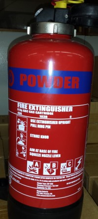 Extinguisher Powder 6 kg MED cartridge operated