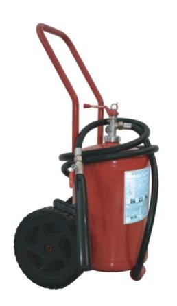 Extinguisher Powder 25 kg MED wheeled constant pressure