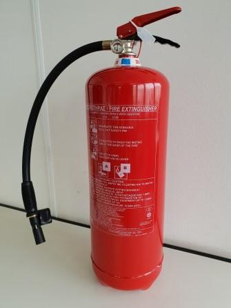 Foam fire extinguisher 9 liter MED constant pressure