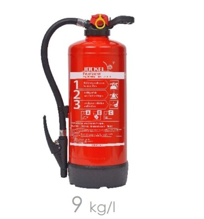 Extinguisher Foam 9 liter MED cartridge operated