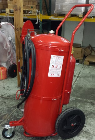 Extinguisher Foam 150 liter wheeled